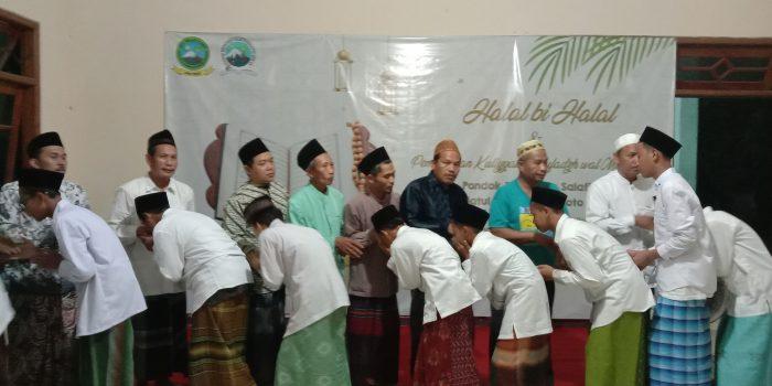 Suasana Halal Bihalal PPS Salafiyah Hamalatul Quran
